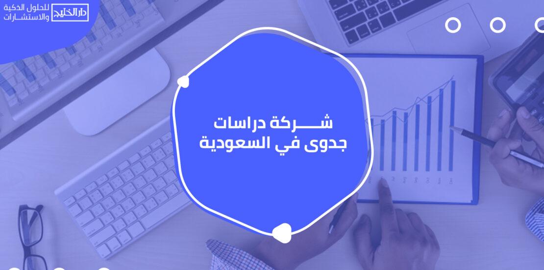 شركة دراسات جدوى في السعودية