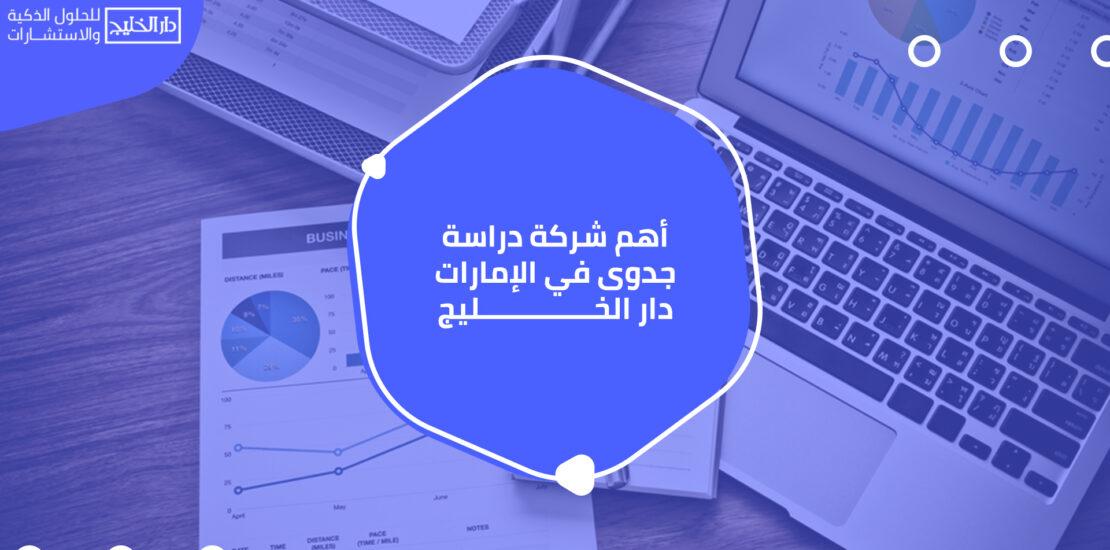 أهم شركات دراسة الجدوى في الإمارات
