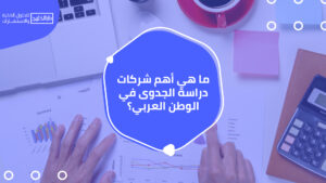 أهم شركات دراسة الجدوى في الوطن العربي